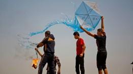دعوات بإسرائيل لقصف مطلقي الطائرات الورقية بغزة